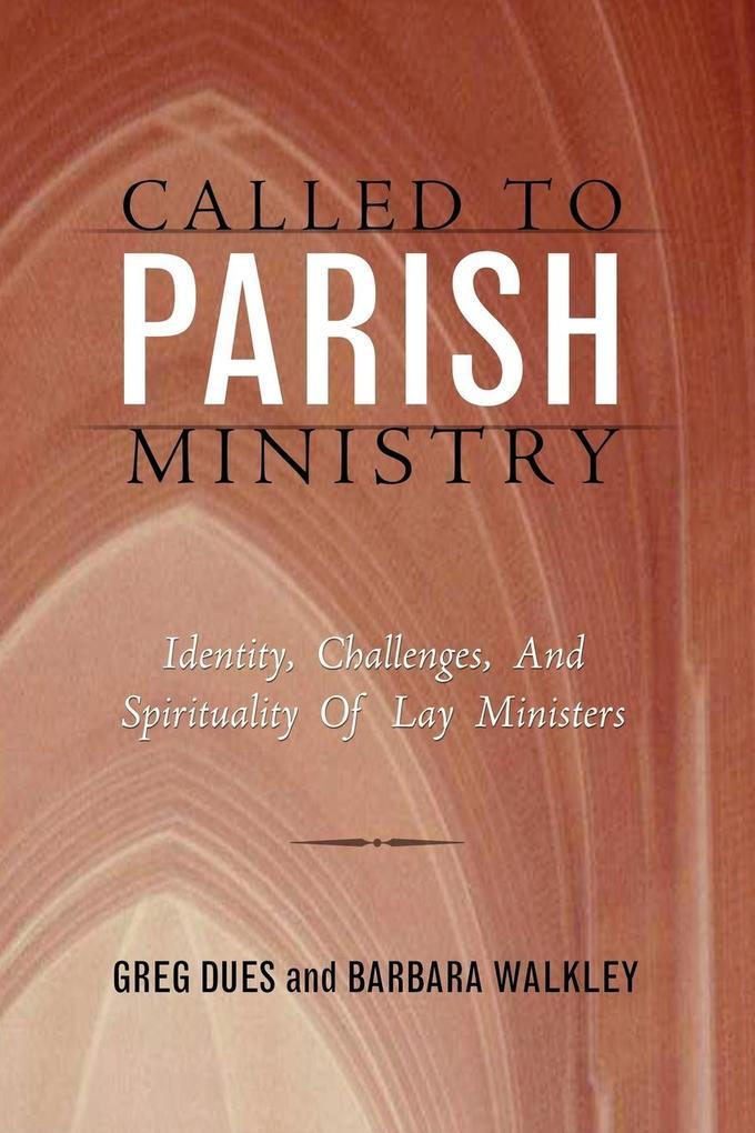 Called to Parish Ministry als Taschenbuch