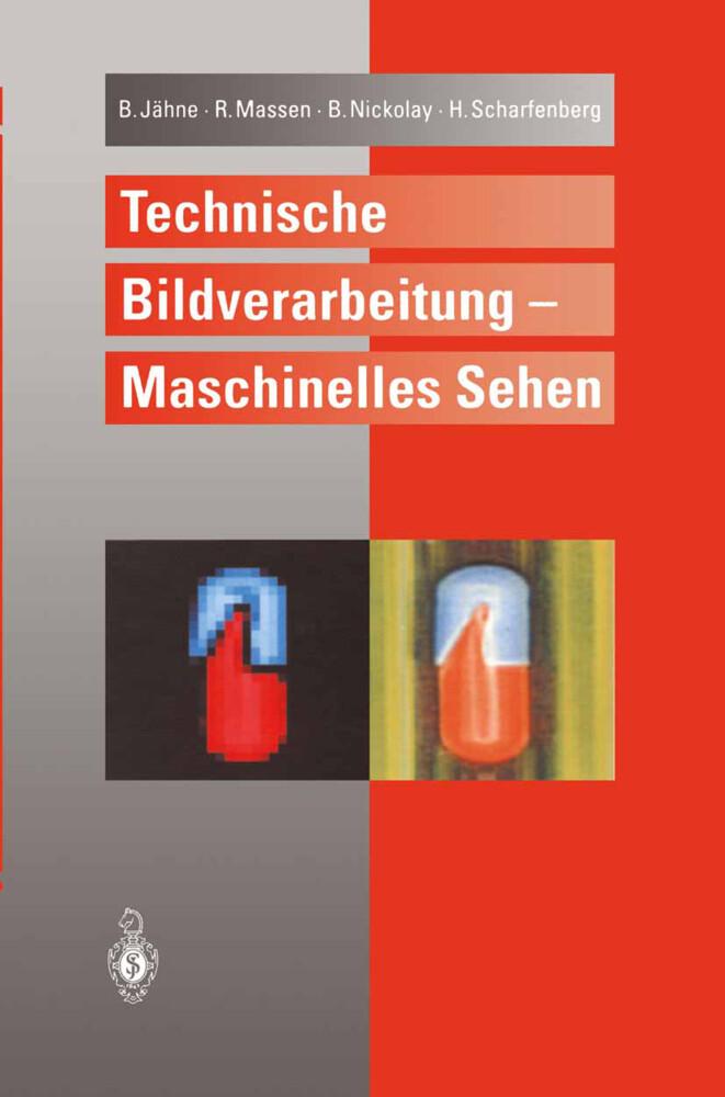 Technische Bildverarbeitung - Maschinelles Sehen als Buch