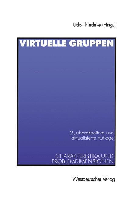 Virtuelle Gruppen als Buch