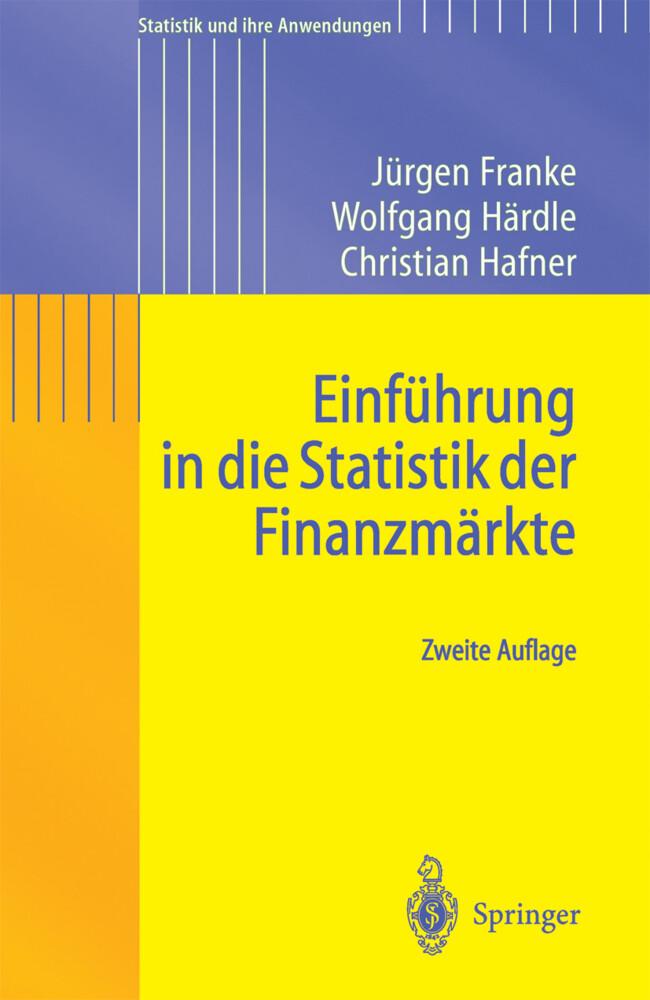 Einführung in die Statistik der Finanzmärkte als Buch