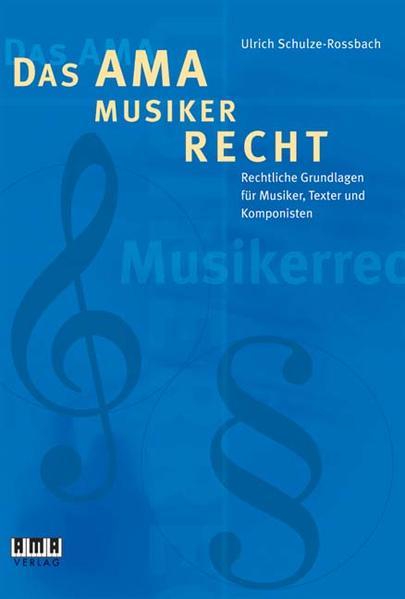Das AMA-Musikerrecht als Buch