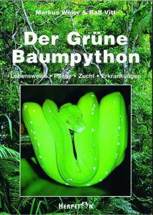 Die Grüne Baumpython als Buch