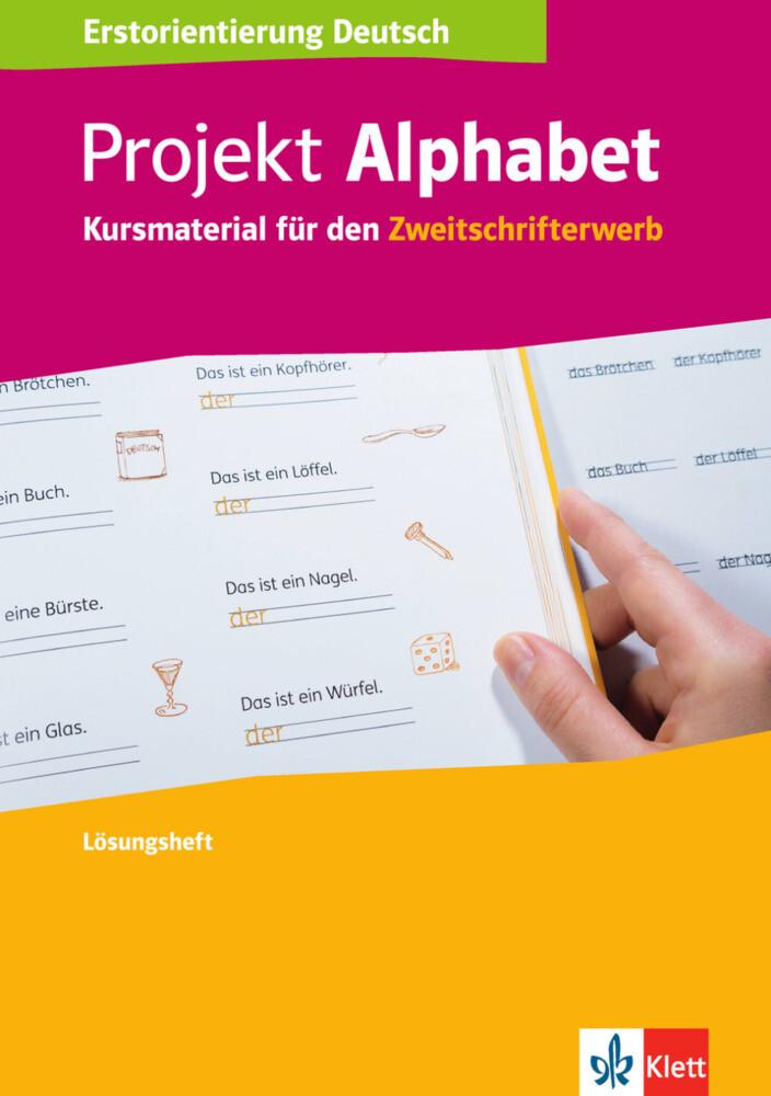 Projekt Alphabet. Lösungsheft als Buch von
