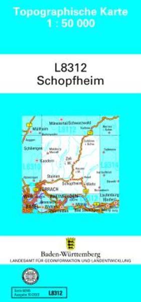 Schopfheim 1 : 50 000 als Buch von
