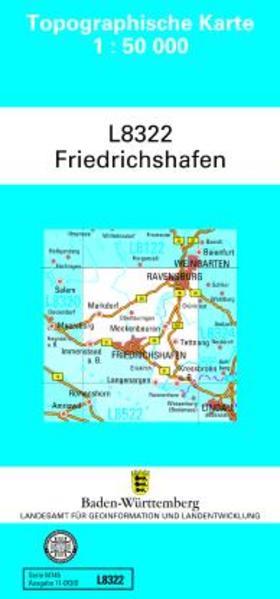 Friedrichshafen 1 : 50 000 als Buch von
