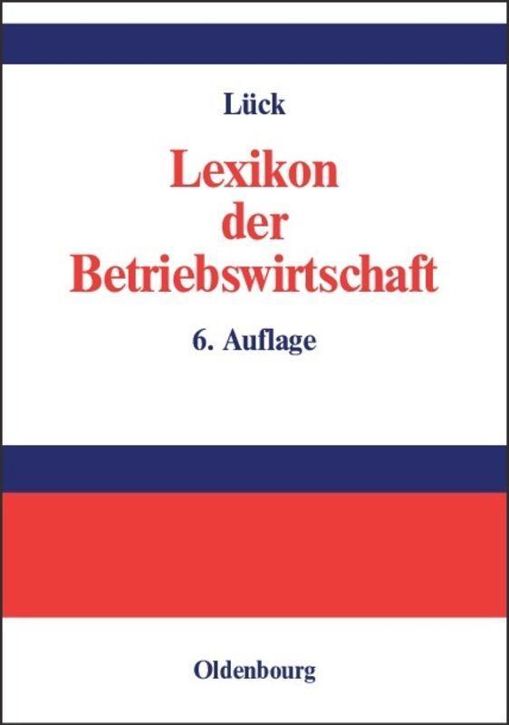 Lexikon der Betriebswirtschaft als Buch