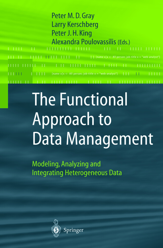 The Functional Approach to Data Management als Buch