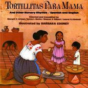 Tortillitas Para Mama: And Other Nursery Rhymes