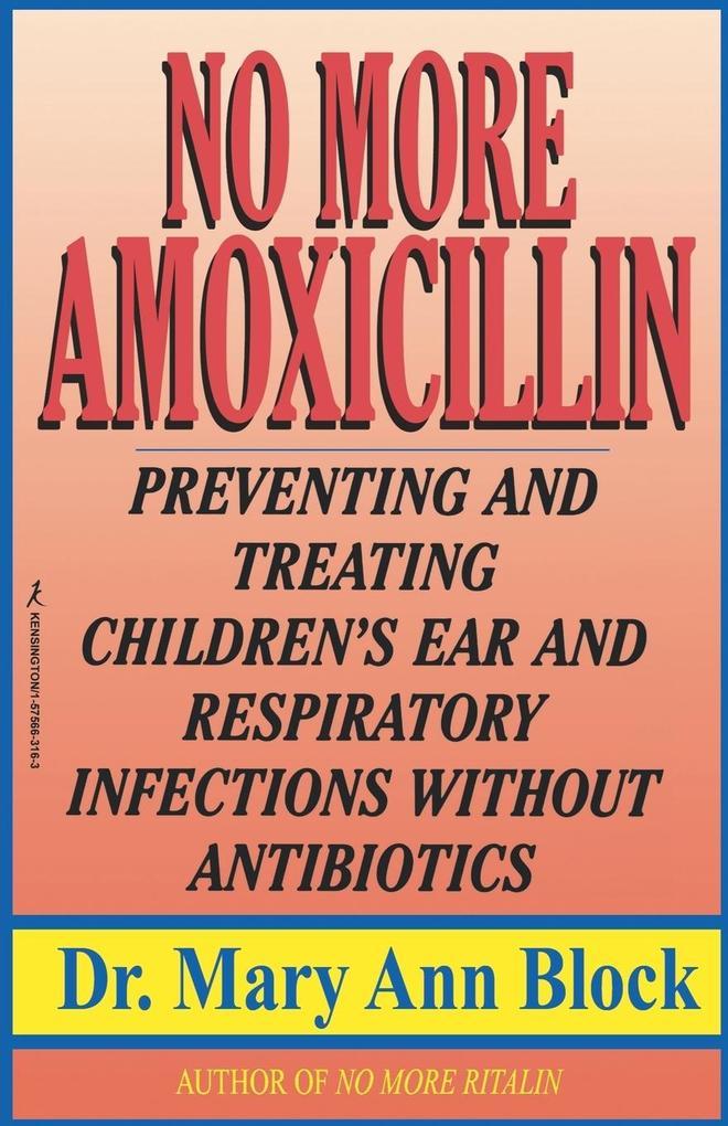 No More Amoxicillin als Taschenbuch