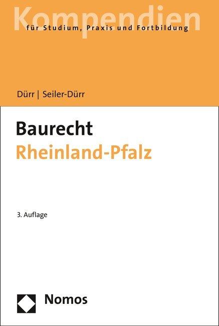 Baurecht Rheinland-Pfalz als Buch von Hansjoche...