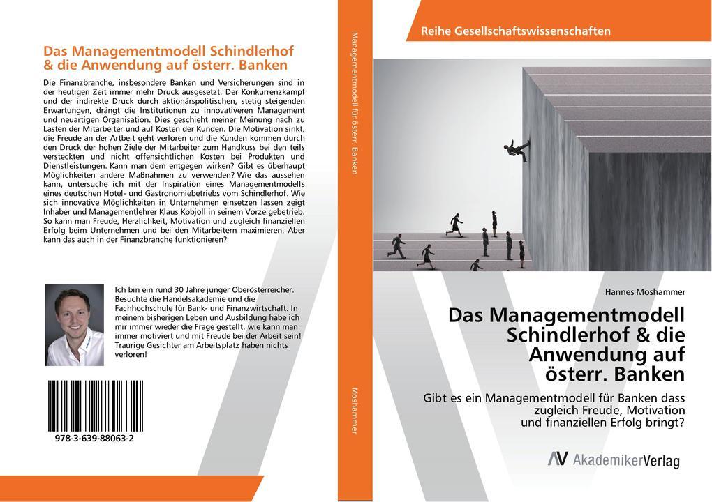 Das Managementmodell Schindlerhof & die Anwendu...