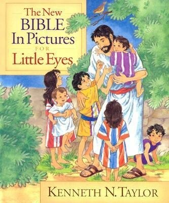 The New Bible in Pictures for Little Eyes als Buch