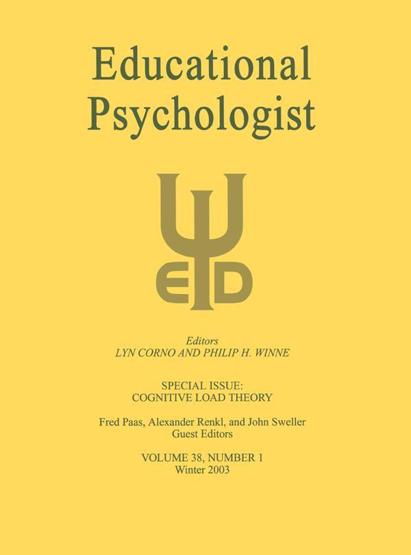 Cognitive Load Theory als eBook Download von