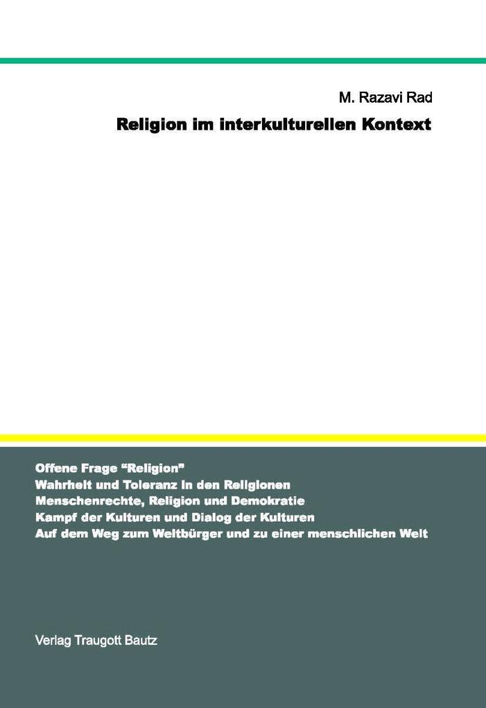 Religion im interkulturellen Kontext als eBook ...