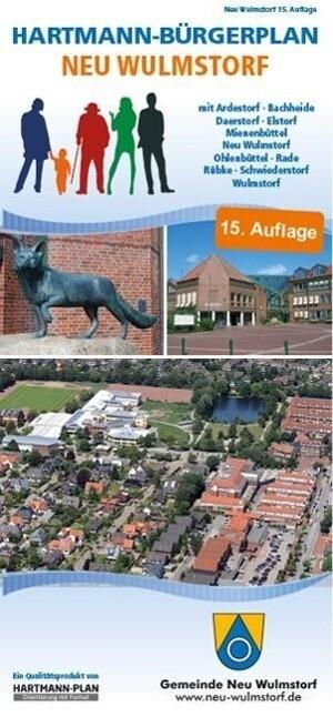 HARTMANN-PLAN Neu Wulmstorf, 1:20.000 Stadtplan...