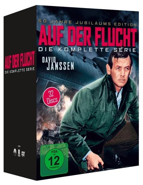 Auf der Flucht - Die komplette Serie (32 Discs) als DVD