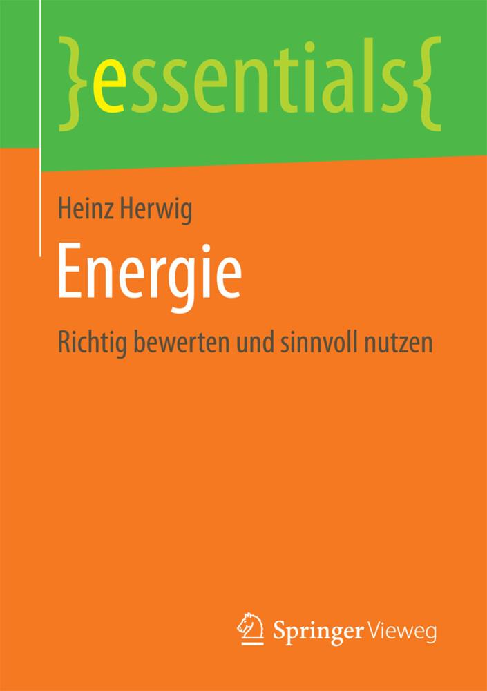 Energie als Buch von Heinz Herwig