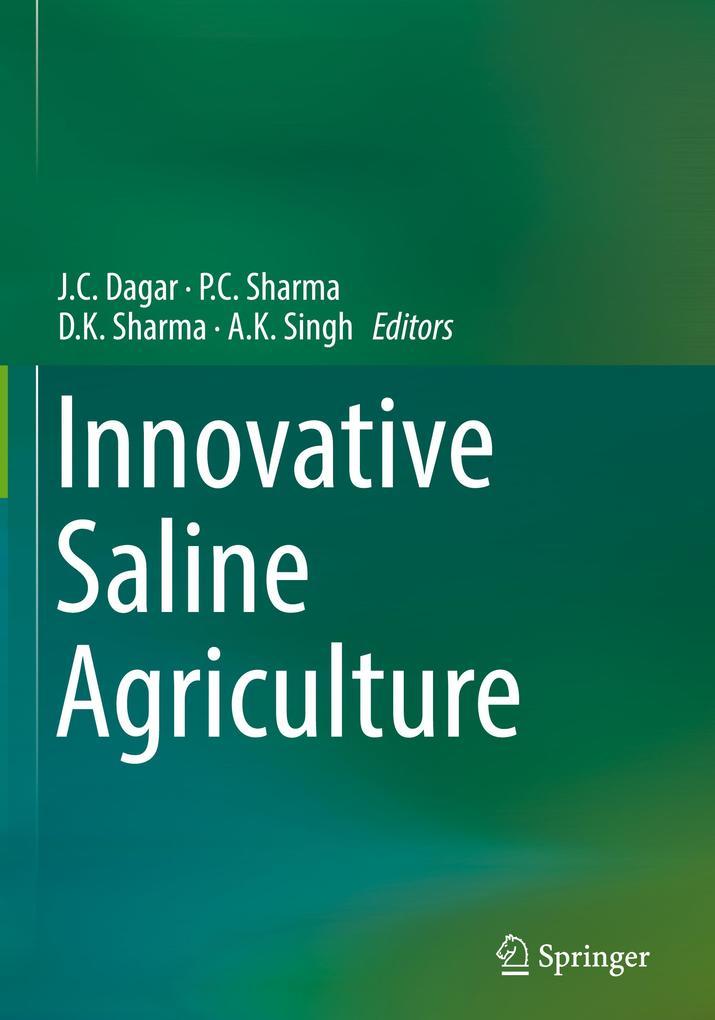 Innovative Saline Agriculture als Buch von