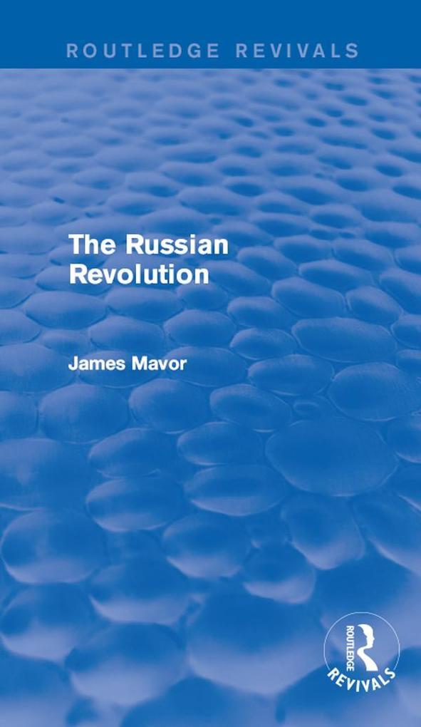 Russian Revolution als eBook Download von James...