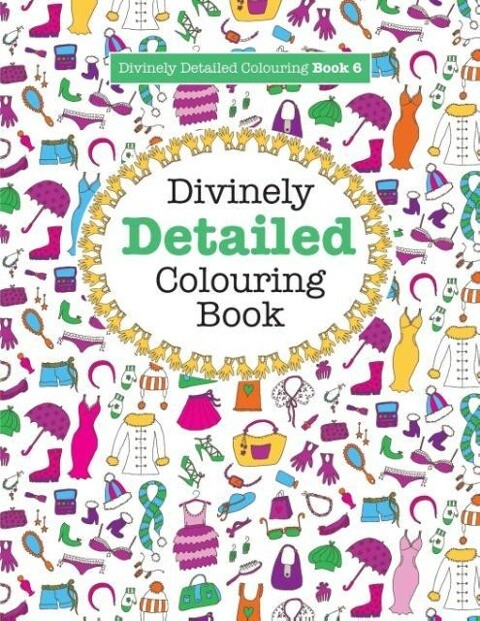 Divinely Detailed Colouring Book 6 als Taschenb...
