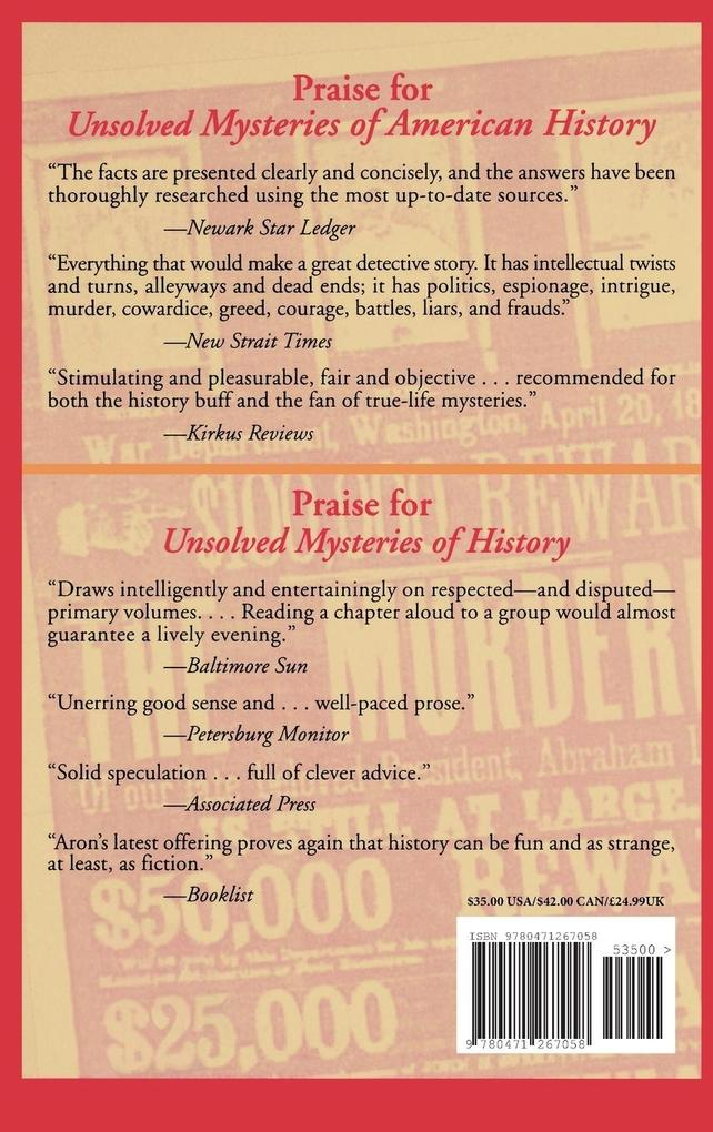 More Unsolved Mysteries of American History als Buch