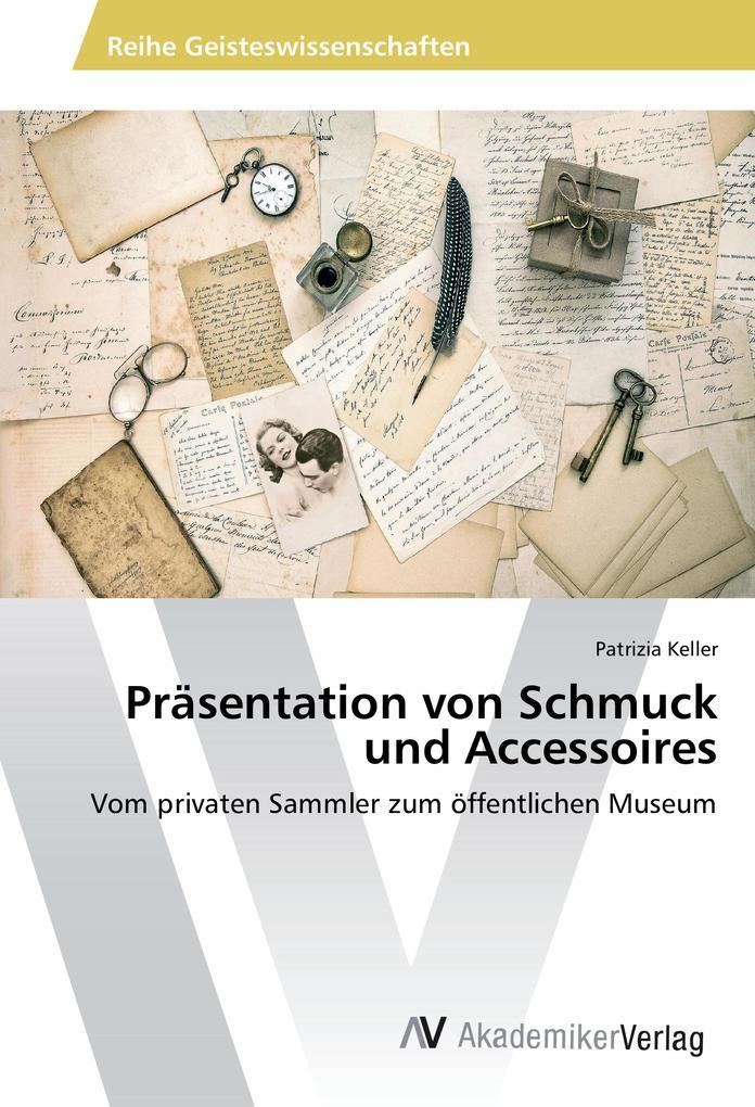 Präsentation von Schmuck und Accessoires als Bu...