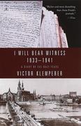 I Will Bear Witness, Volume 1