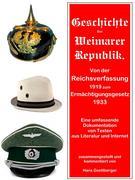 Geschichte der Weimarer Republik von der Reichsverfassung zum Ermächtigungsgesetz