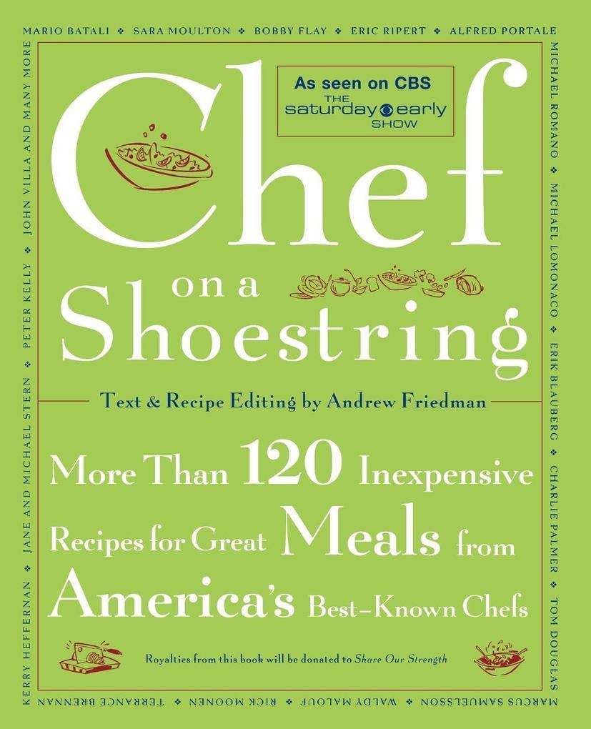 Chef on a Shoestring als Taschenbuch