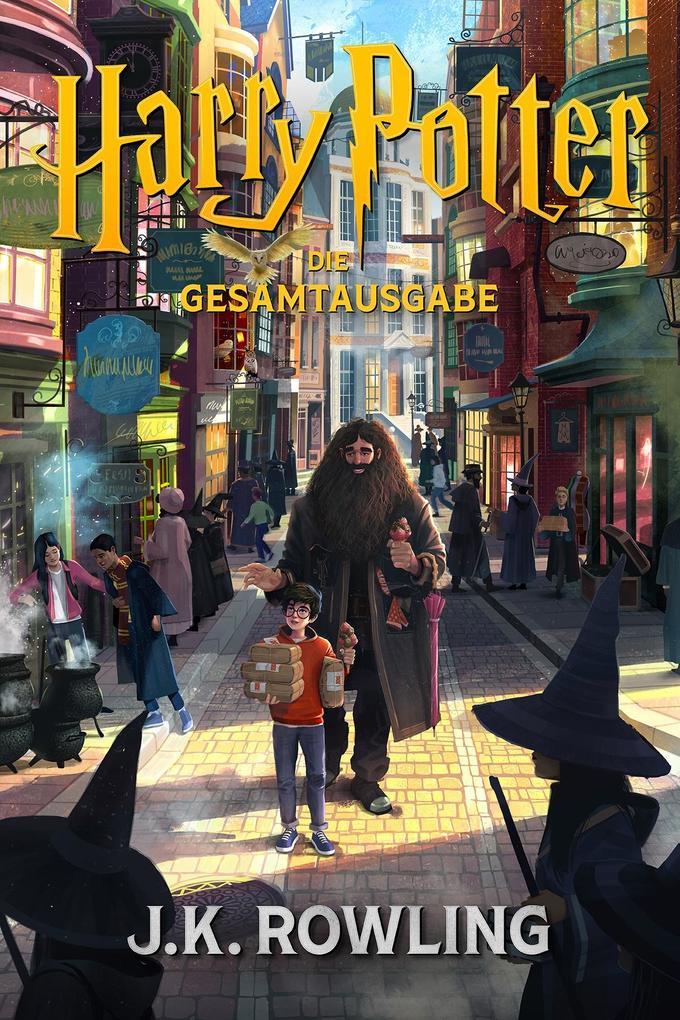 Harry Potter: Die Gesamtausgabe (1-7) als eBook