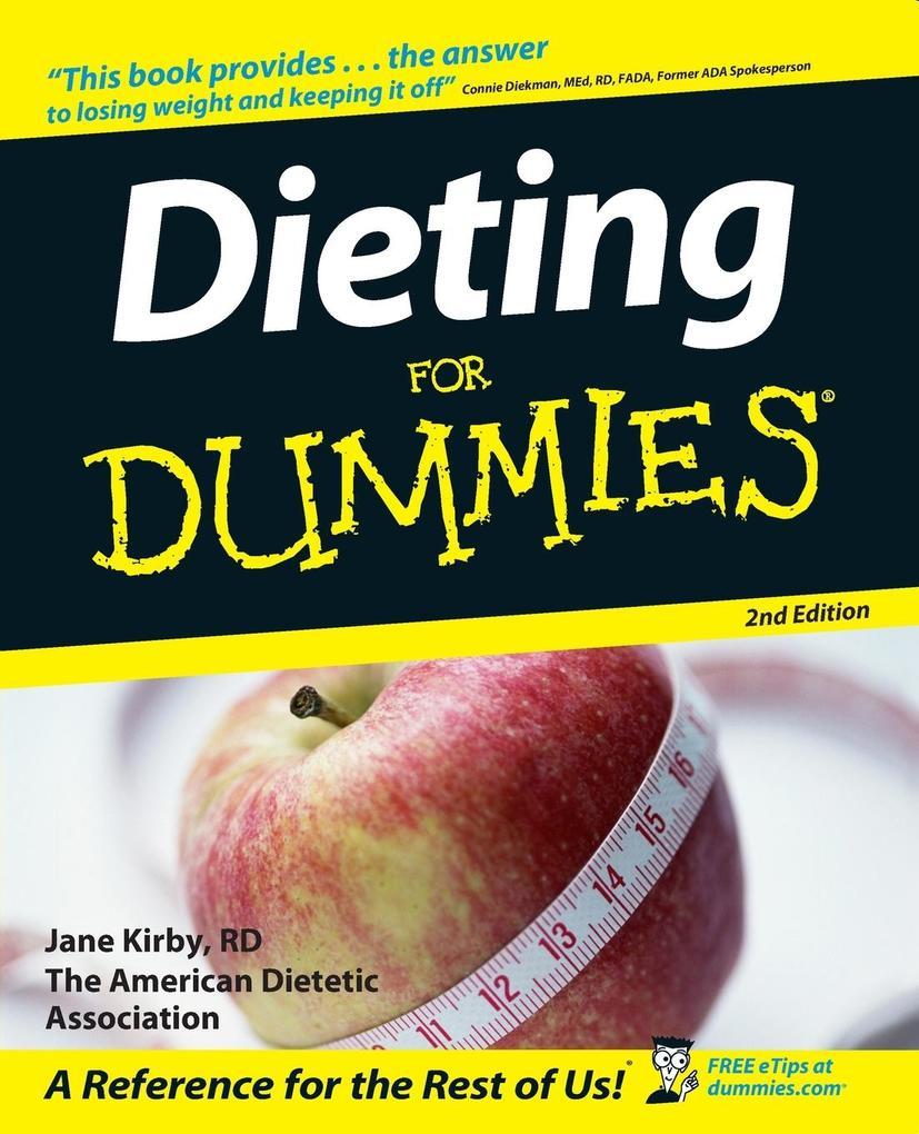 Dieting for Dummies als Buch