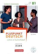 Pluspunkt Deutsch B1: Gesamtband - Arbeitsbuch und Kursbuch