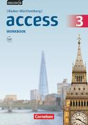 English G Access Band 3: 7. Schuljahr - Baden-Württemberg - Workbook mit Audios online