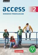 English G Access Band 2: 6. Schuljahr- Allgemeine Ausgabe Baden-Württemberg - Workbook - Förderausgabe