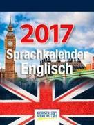Sprachkalender Englisch 2017 Tages-Abreisskalender