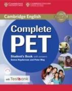 Complete Pet Student's Book with Answers and Testbank [With CDROM]