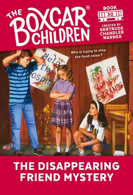 The Disappearing Friend Mystery als Taschenbuch