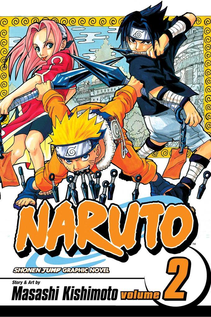 Naruto, Vol. 2 als Taschenbuch