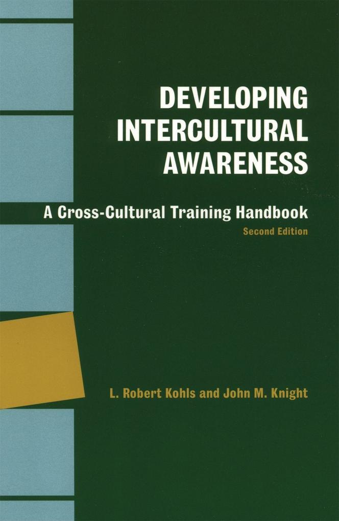 Developing Intercultural Awareness als Taschenbuch