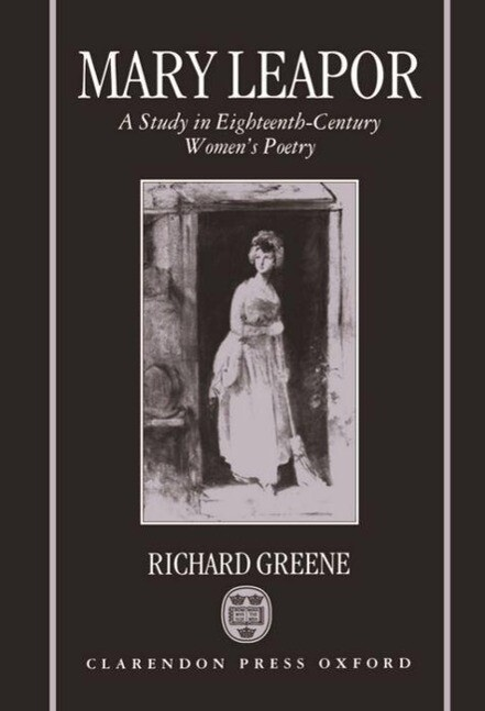 Mary Leapor: A Study in Eighteenth-Century Women's Poetry als Buch