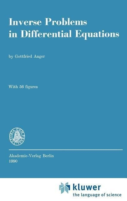 Inverse Problems in Differential Equations als Buch