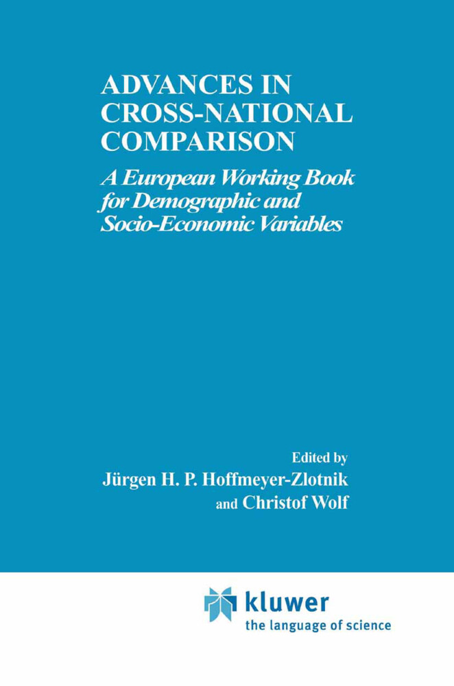 Advances in Cross-National Comparison als Buch