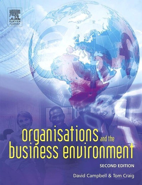 Organisations and the Business Environment als Buch