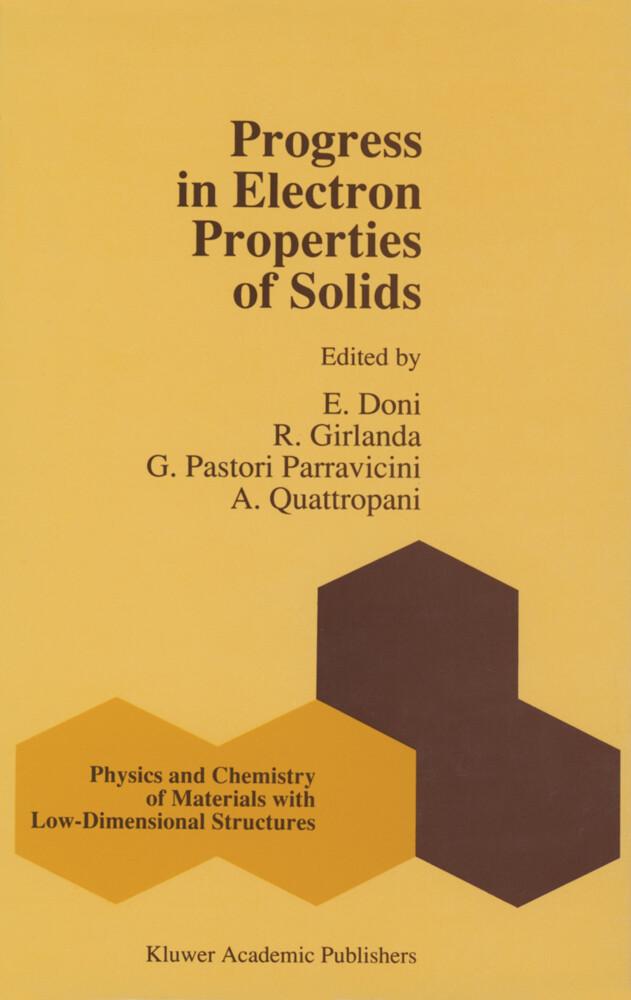 Progress in Electron Properties of Solids als Buch