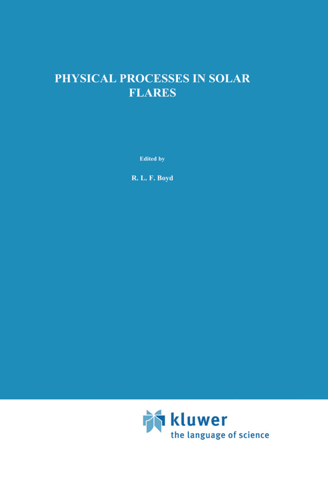 Physical Processes in Solar Flares als Buch