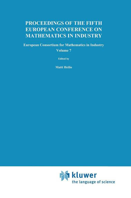 Proceedings of the Fifth European Conference on Mathematics in Industry als Buch