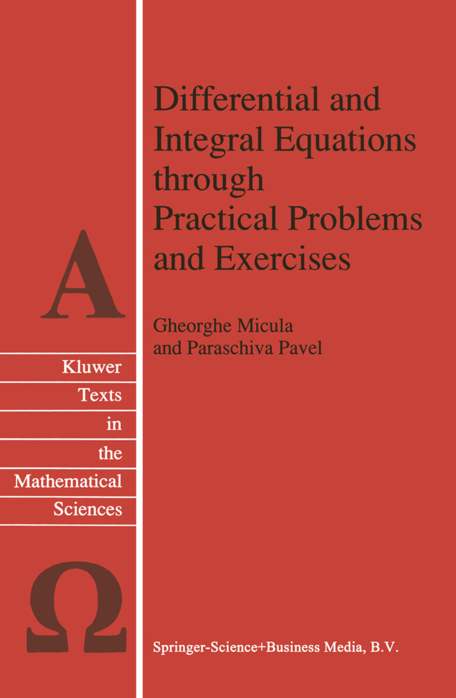 Differential and Integral Equations through Practical Problems and Exercises als Buch
