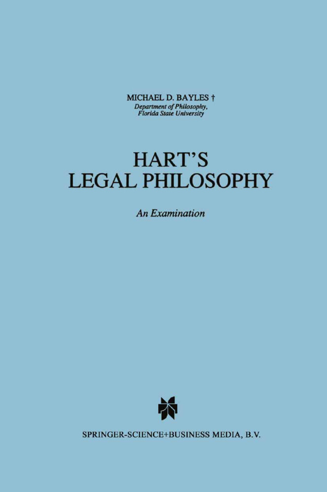 Hart's Legal Philosophy als Buch