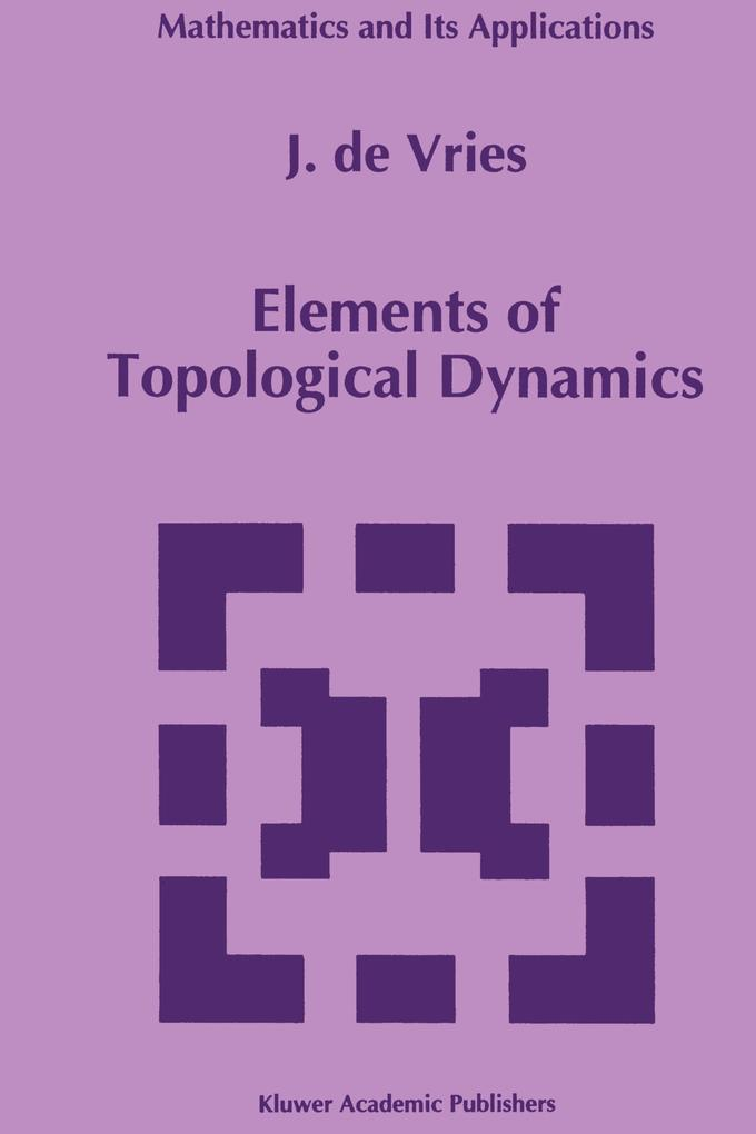 Elements of Topological Dynamics als Buch