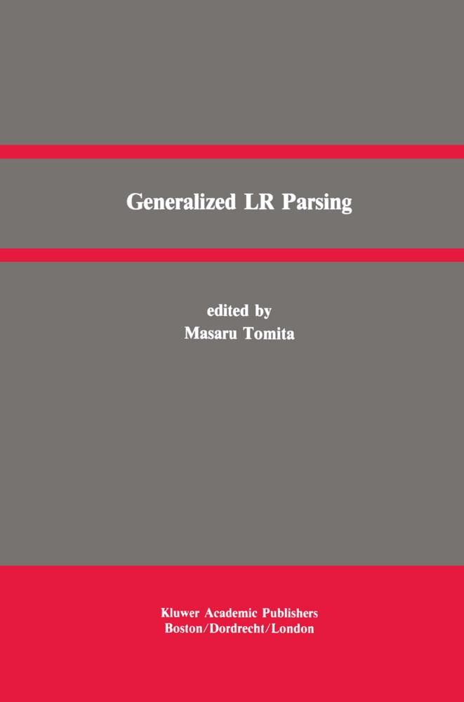 Generalized LR Parsing als Buch
